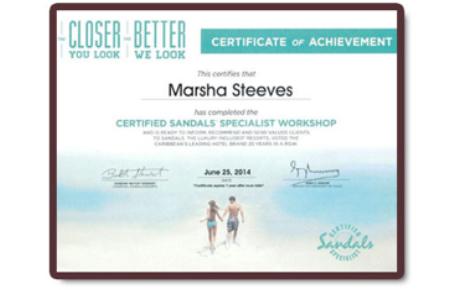 marsha-credentials_certifiedsandalsspecialist